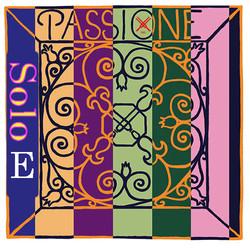Pirastro Pirastro PASSIONE SOLO violin E string, medium, silvery steel,