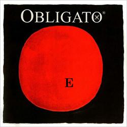 Pirastro Pirastro OBLIGATO gold-steel violin E string, 4/4 medium,