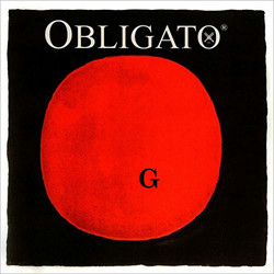 Pirastro Pirastro OBLIGATO silver violin G string, 4/4 medium