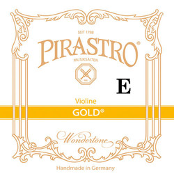 Pirastro Pirastro GOLD violin E string, steel,