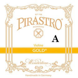 Pirastro Pirastro GOLD violin A string, medium, aluminum on gut (in envelope)