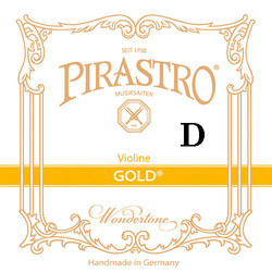 Pirastro Pirastro GOLD violin D string, silver-aluminum on gut (in envelope)