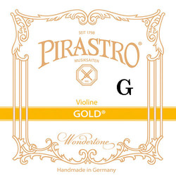 Pirastro Pirastro GOLD violin G string, gut/silver (in Envelope)