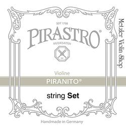 Pirastro Pirastro PIRANITO violin string set with chrome-steel A, medium,