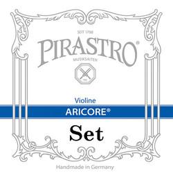 Pirastro Pirastro ARICORE violin string set, aluminum A & D, 4/4, medium,