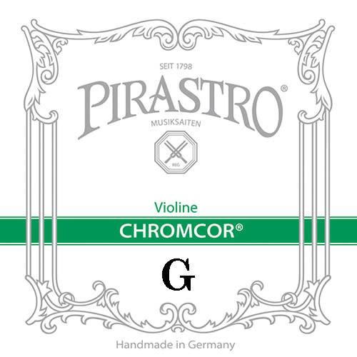 Pirastro Pirastro CHROMCOR violin G string,  steel, medium,