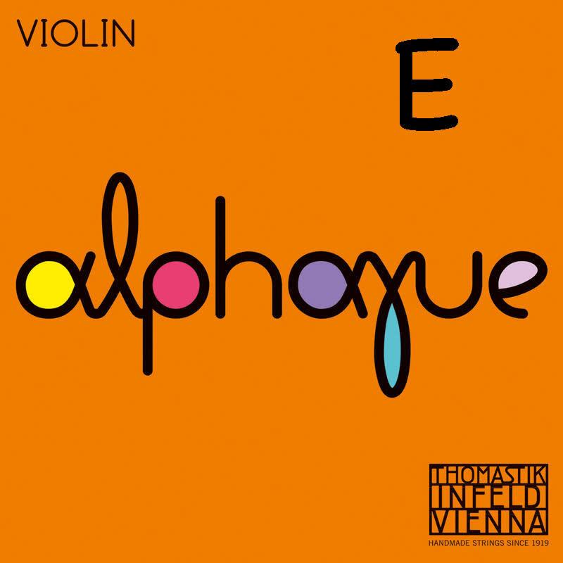 Thomastik-Infeld ALPHAYUE tin-plated medium violin E string, by Thomastik-Infeld,