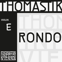 Thomastik-Infeld Rondo violin tin-plated E string, 4/4 medium, by Thomastik-Infeld, straight