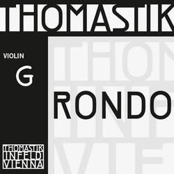Thomastik-Infeld Rondo silver violin G string, 4/4 medium, by Thomastik-Infeld, straight