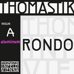 Thomastik-Infeld Rondo aluminum violin A string, 4/4 medium, by Thomastik-Infeld, straight