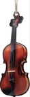 AIM Gifts 4'' violin ornament with mirror