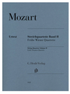 Mozart: String Quartets Volume 2 (Early Viennese Quartets) (string quartet) Henle