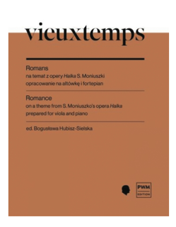 PWM Edition Vieuxtemps: Romance on a Theme from S. Moniuszko's Opera 'Halka' (viola and piano) PWM