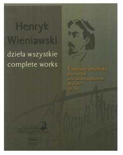 PWM Edition Wieniawski: Fantaisie Orientale, Op. 24 (violin and piano)