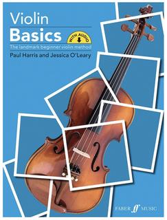 Faber Music Harris: Violin Basics - The Landmark Beginner Violin Method (violin) Faber