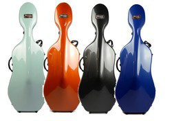 BAM BAM Newtech 4/4 cello case, 12 lbs, FRANCE,