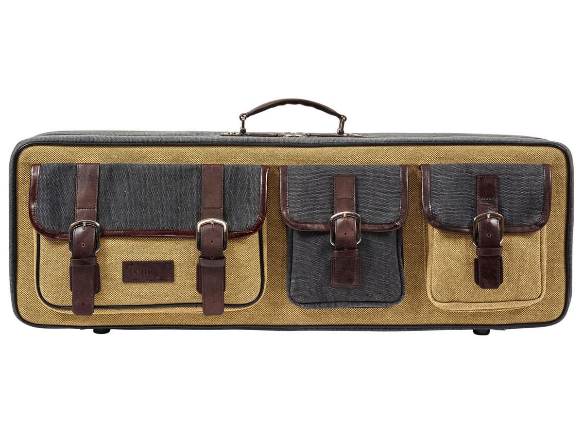 BAM BAM Nashville canvas-covered oblong violin case,