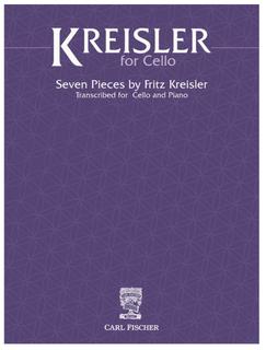 Carl Fischer Kreisler: Kreisler for Cello (cello and piano) Fischer
