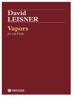 Theodore Presser Leisner: Vapors (viola) Presser