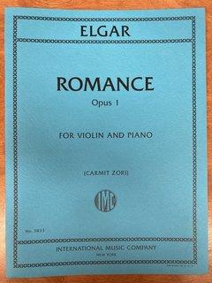 International Music Company Elgar (Zori): Romance, opus 1 (violin and piano) IMC