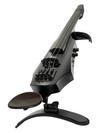NS Design NS Design NXT4a Satin Black 4-string electric violin with case. Czech Republic
