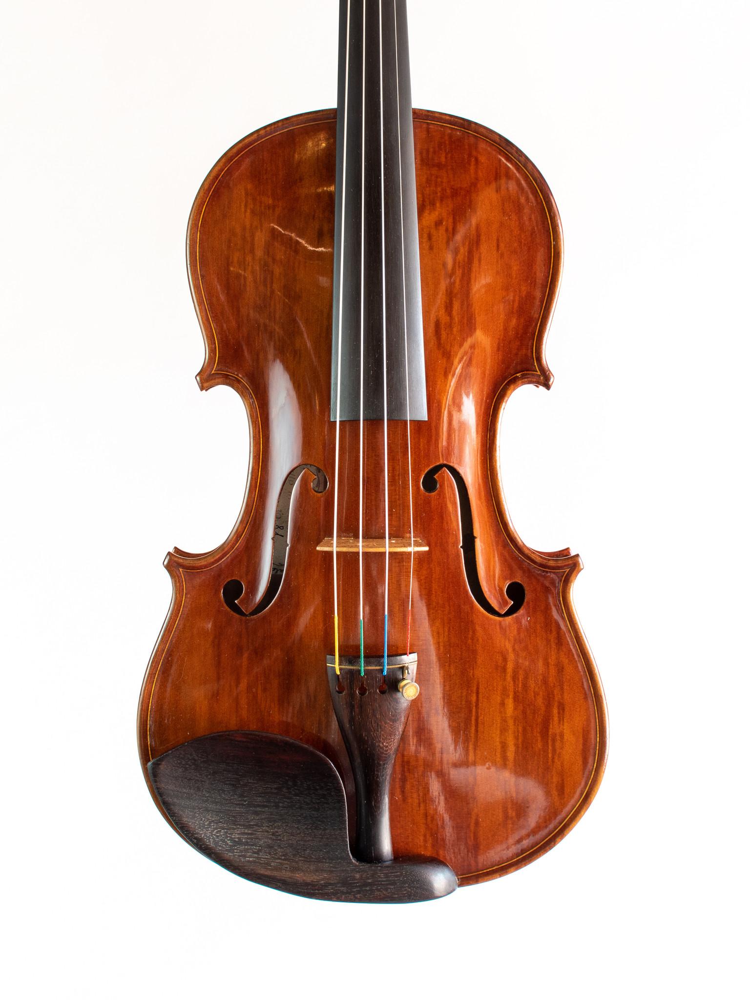 Italian Stefano Conia violin #101, 1981, Cremona, ITALY, with maker's certificate