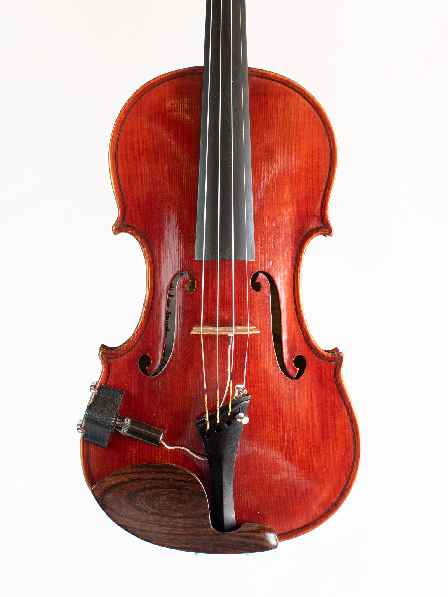 Jeffrey Muller violin, 2016, Los Angeles, USA