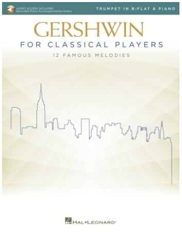 HAL LEONARD Gershwin: Gershwin for Classical Players (violin,  piano, online audio) Hal Leonard