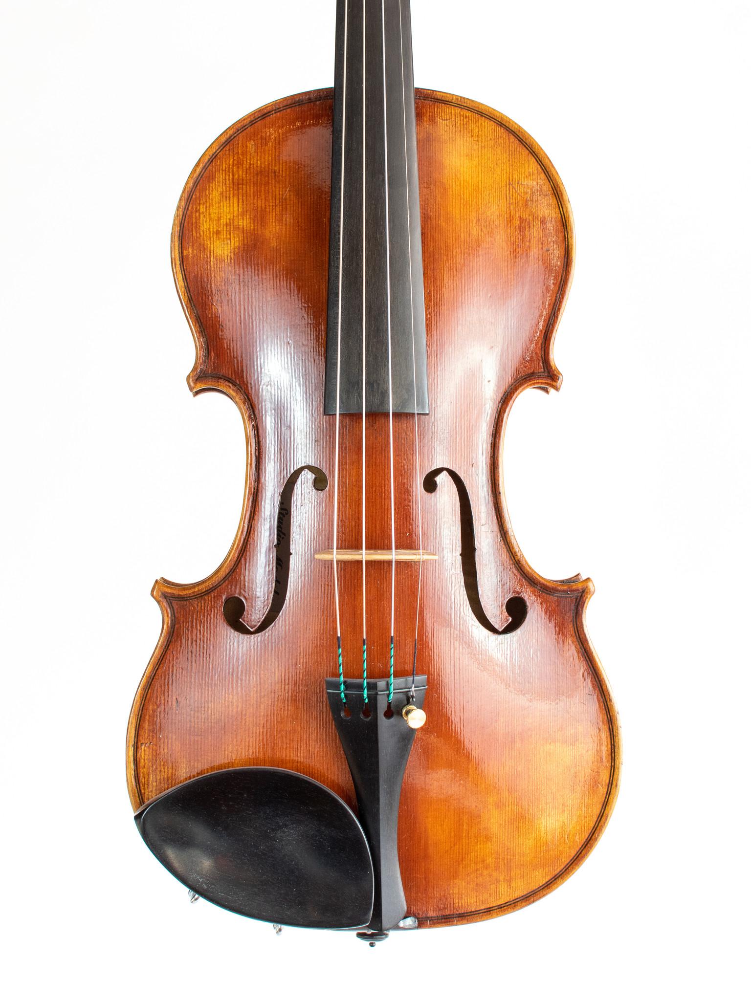 Jeff Lee Manthos Studio Model 4/4 violin, 2019, #76, Corvallis OR