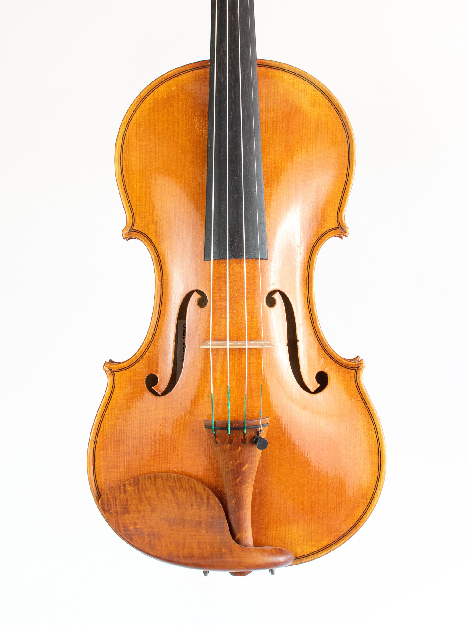 Jordan Hess violin, Guarneri model, 1-piece back, 2020, Salt Lake City