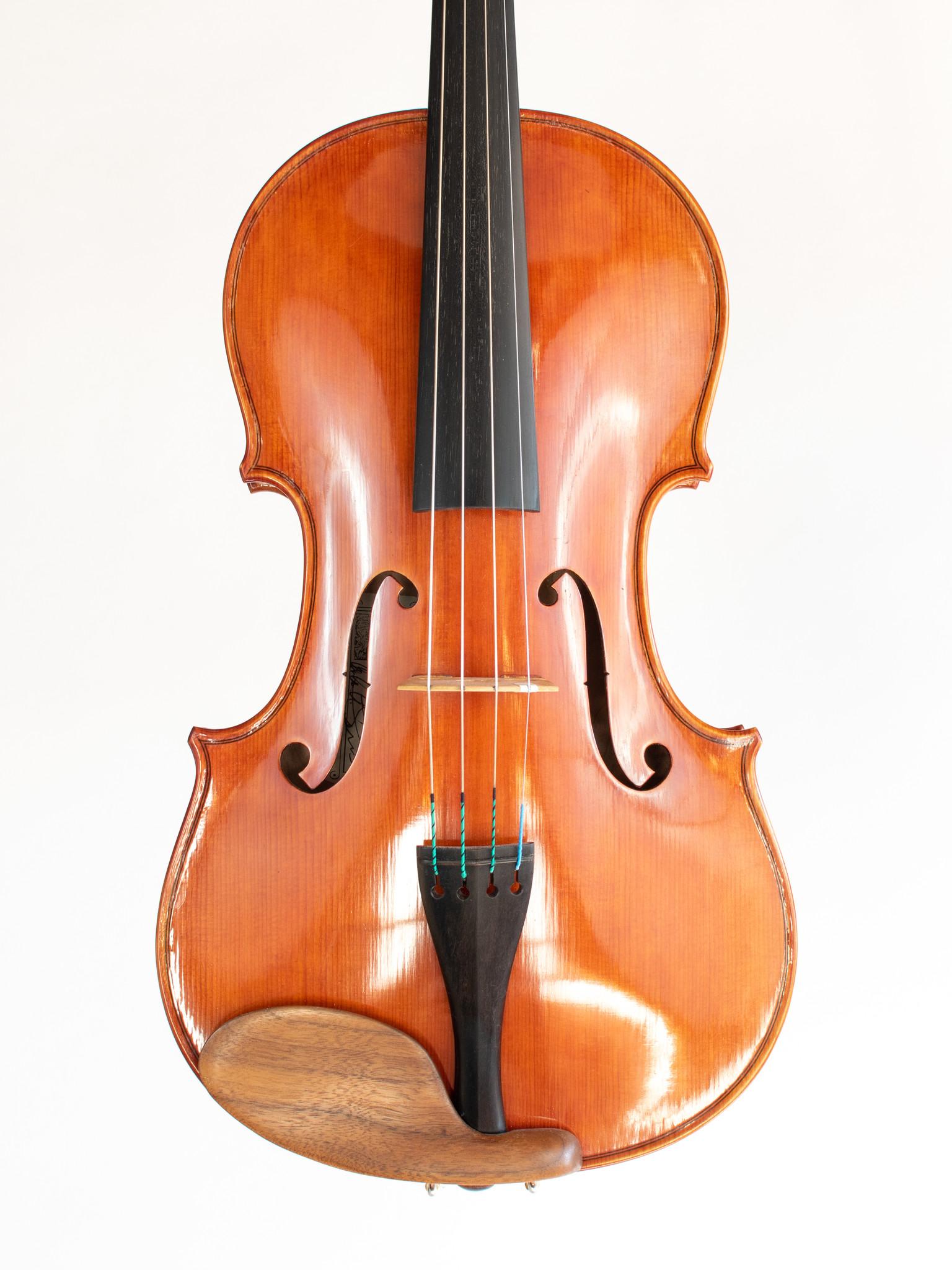 "Carlos Funes viola, 16"", J.B. Ceruti 1793 model, 2020, San Francisco, USA"