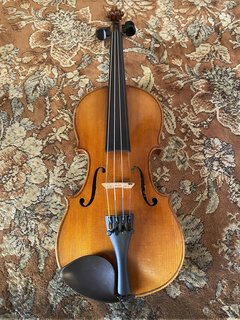 German 1900s unlabeled 1/2 violin outfit