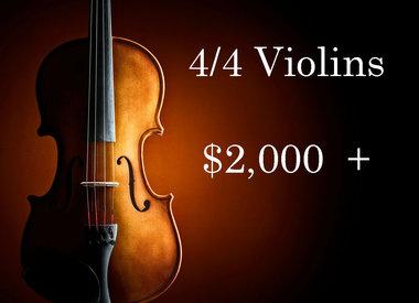 Violins $2,000 - $4,999
