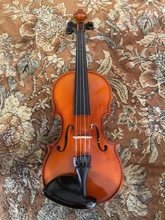 Czech Czech 1/4 used violin outfit