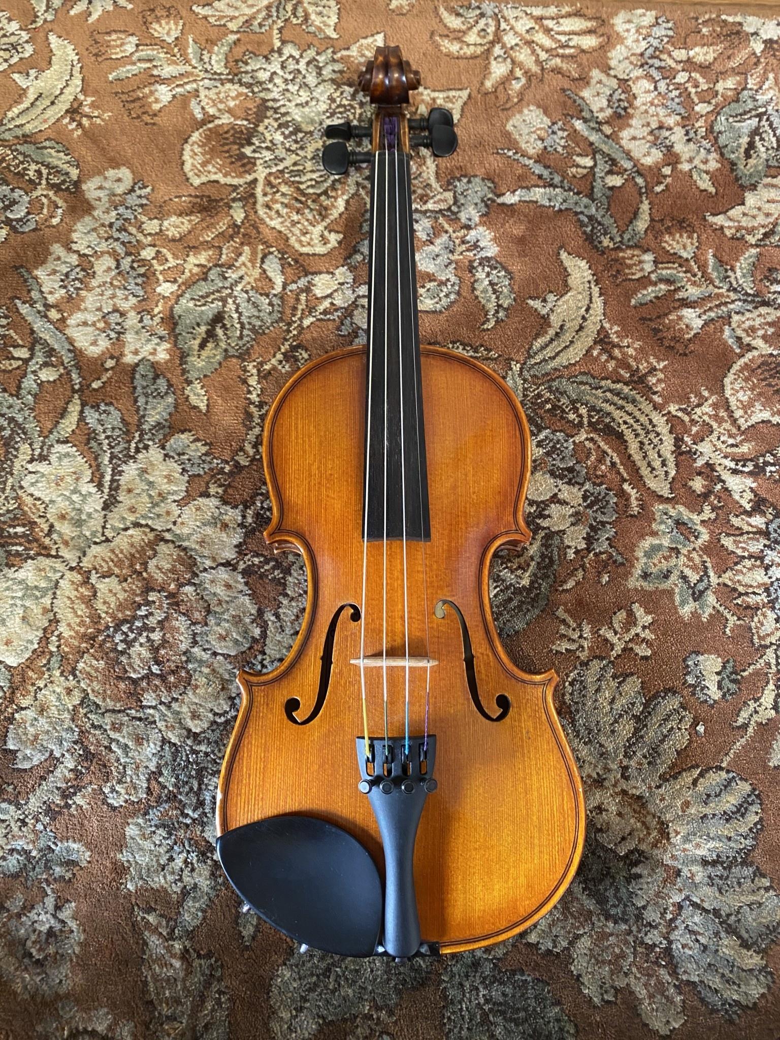 Götz C.A. Gotz jr. 1/4 model 100 violin outfit 2005