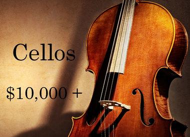 Cellos $10,000 - $19,999