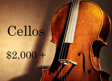 Cellos $2,000 - $9,999