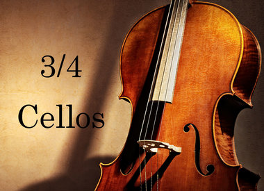 Cellos 3/4 size