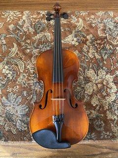"German ""Strad"" 15"" antique viola outfit"