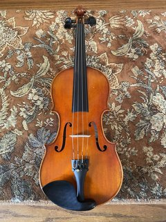 "Thankful Strings Used Thankful strings 14 1/2"" viola outfit, model 25, No. 219 CHINA (#224)"