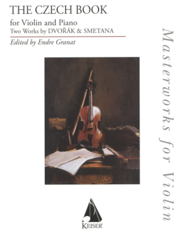 Lauren Keiser Dvorak (Granat): The Czech Book (violin and piano) Keiser