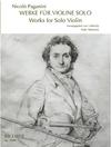 RICORDI Paganini (Vescovo): Works for Solo Violin (violin) Ricordi