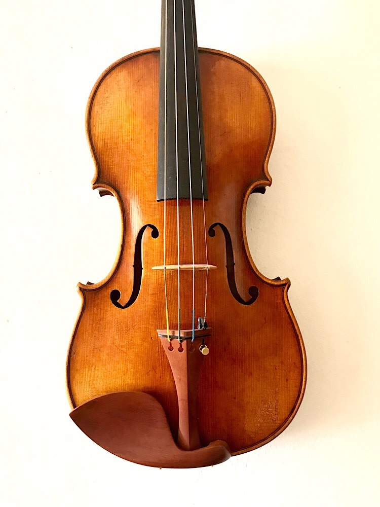 Great Wall Fine antiqued 4/4 violin, China