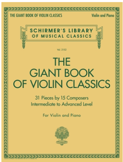 Schirmer Schirmer: Giant Book of Violin Classics (violin, piano) SCHIRMER