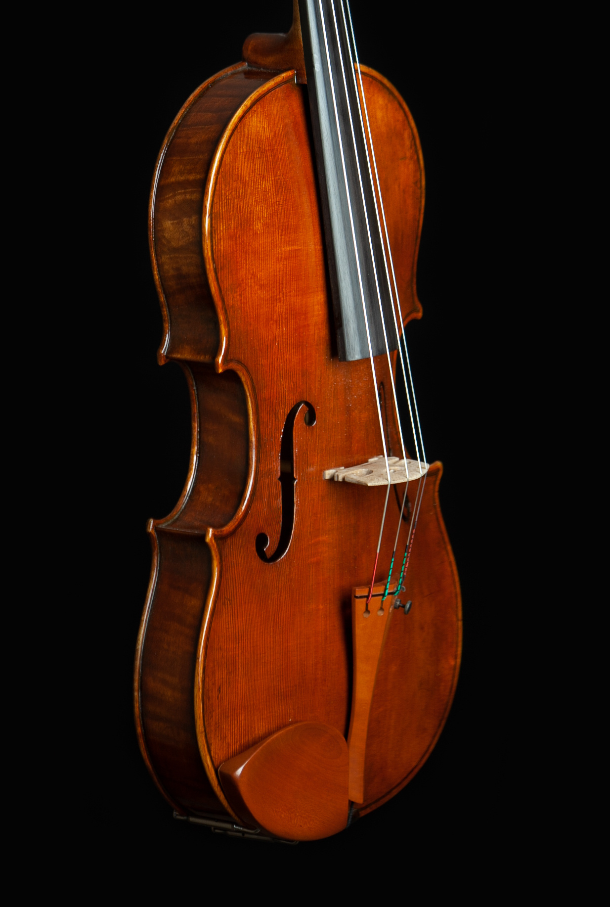 "Jeff Lee Manthos 17"" viola #70, Corvallis, OR, USA, 2021"