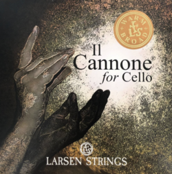 Larsen Larsen Il Cannone cello string set, Warm & Broad