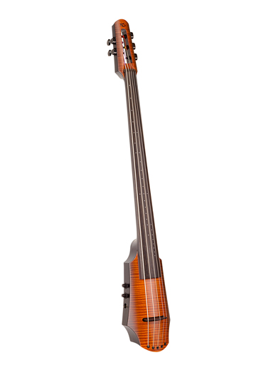 NS Design NS Design NXT5a 5-string electric cello with soft case and tripod stand.  Czech Republic,