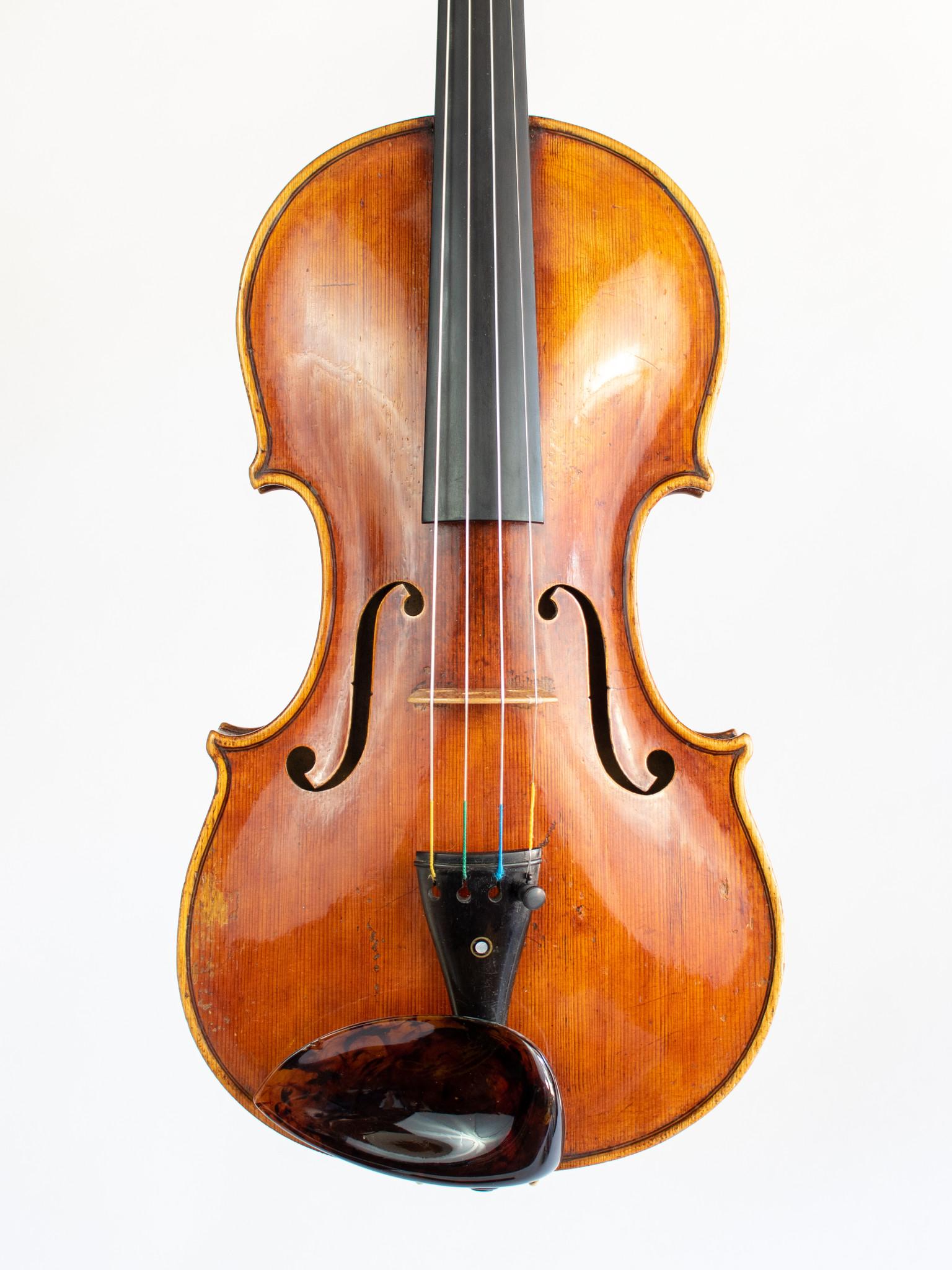 """Joseph Ceruti label violin, """"Cremonensis 1847"""", European"""