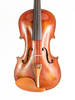 """""""Stainer"""" 4/4 violin, re-graded in 1916 by H.J. Wiegand"""