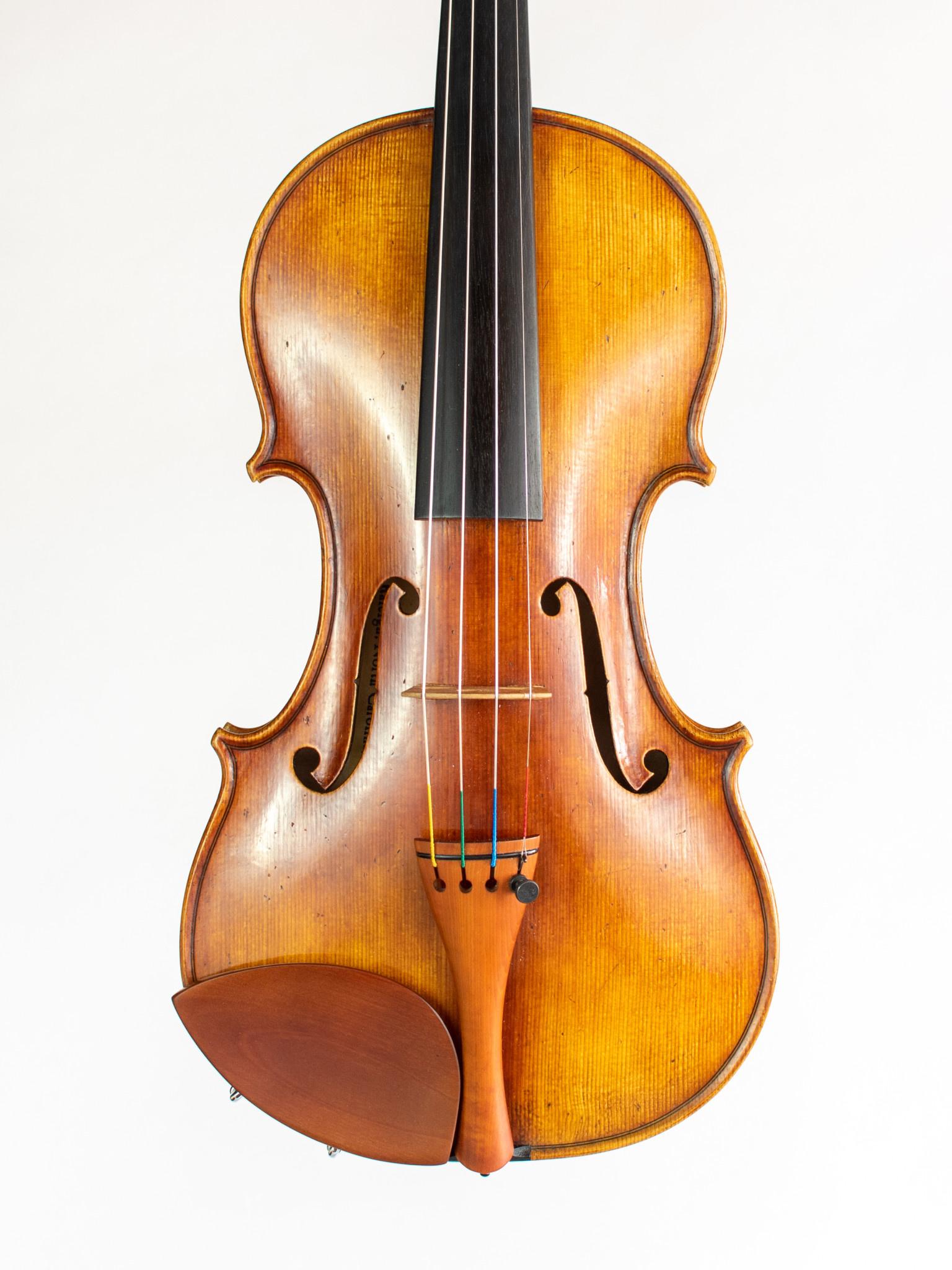 John Montgomery violin, 2014, Raleigh, North Carolina, USA
